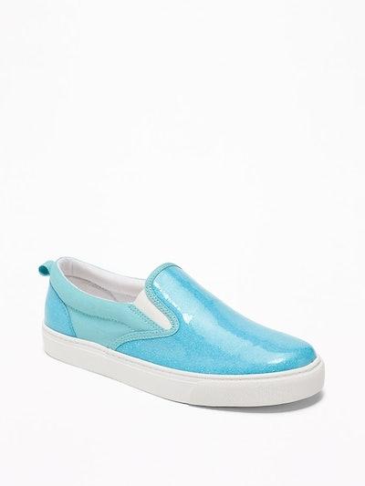 Glitter Slip-Ons