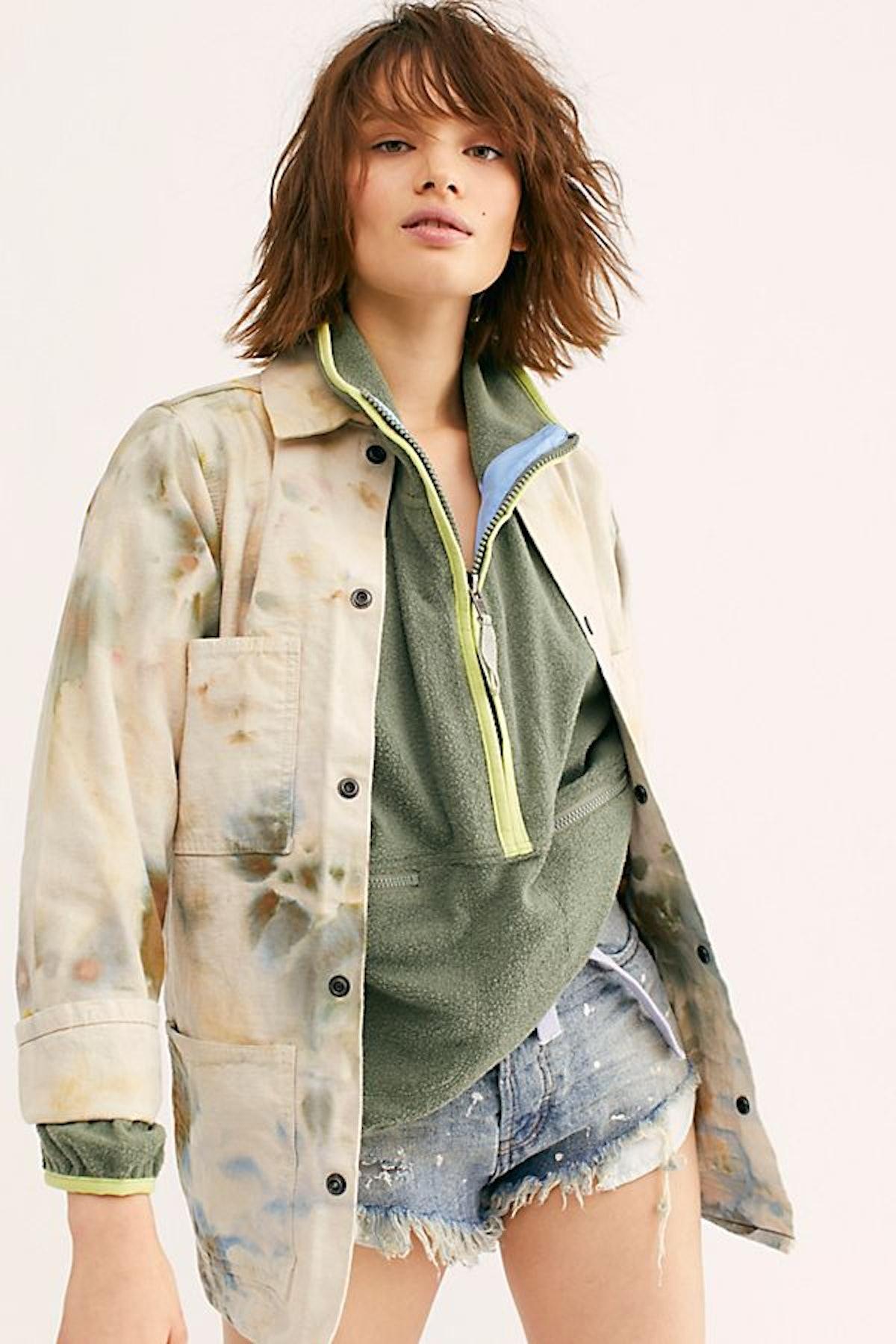 Tie Dye Workwear Jacket