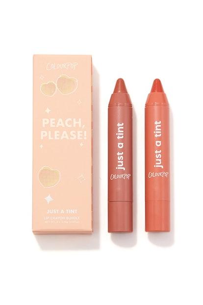Peach, Please! Lippie Tint Kit