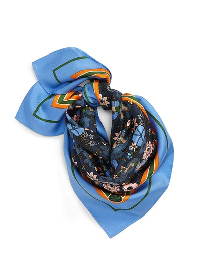 Ditsy Blossom Silk Neckerchief