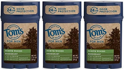 Tom's of Maine Natural Deodorant (3-Pack, 2.25 Oz. each)