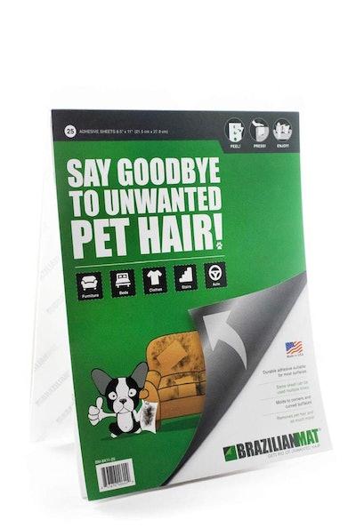 BrazilianMat Dog Cat Hair Remover Sheets