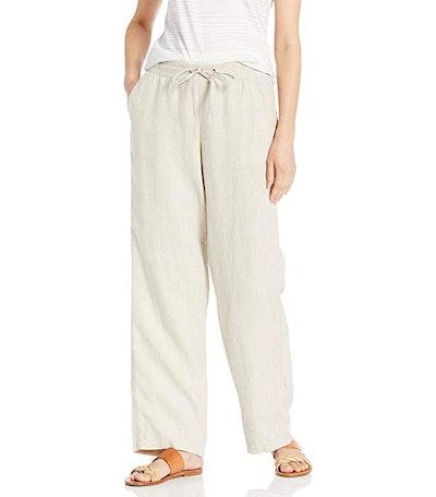 Amazon Essentials Women's Drawstring Linen Pant