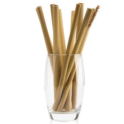 NaturalNeo Organic Bamboo Straws (10 Straws)