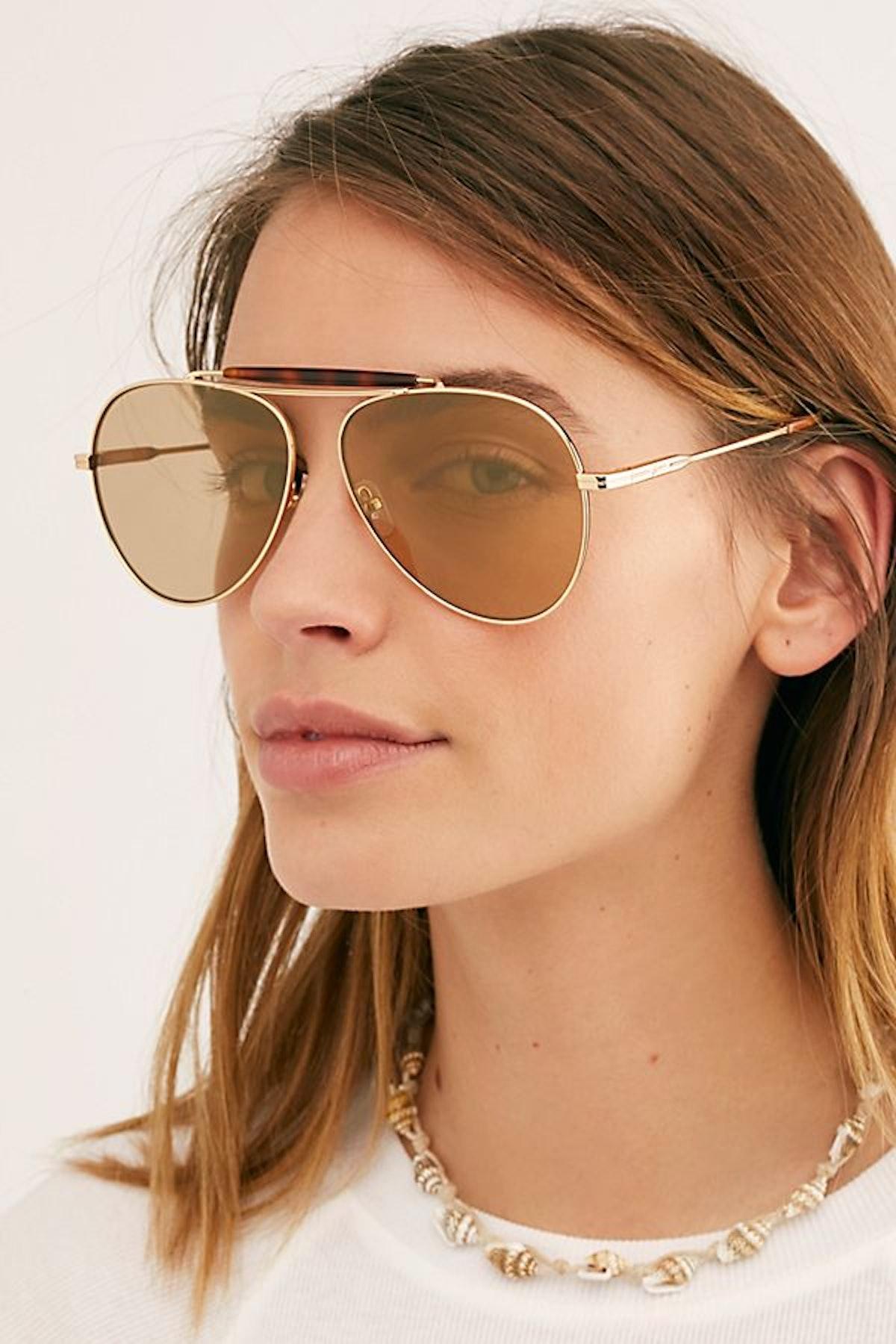 Nara Aviator Sunglasses