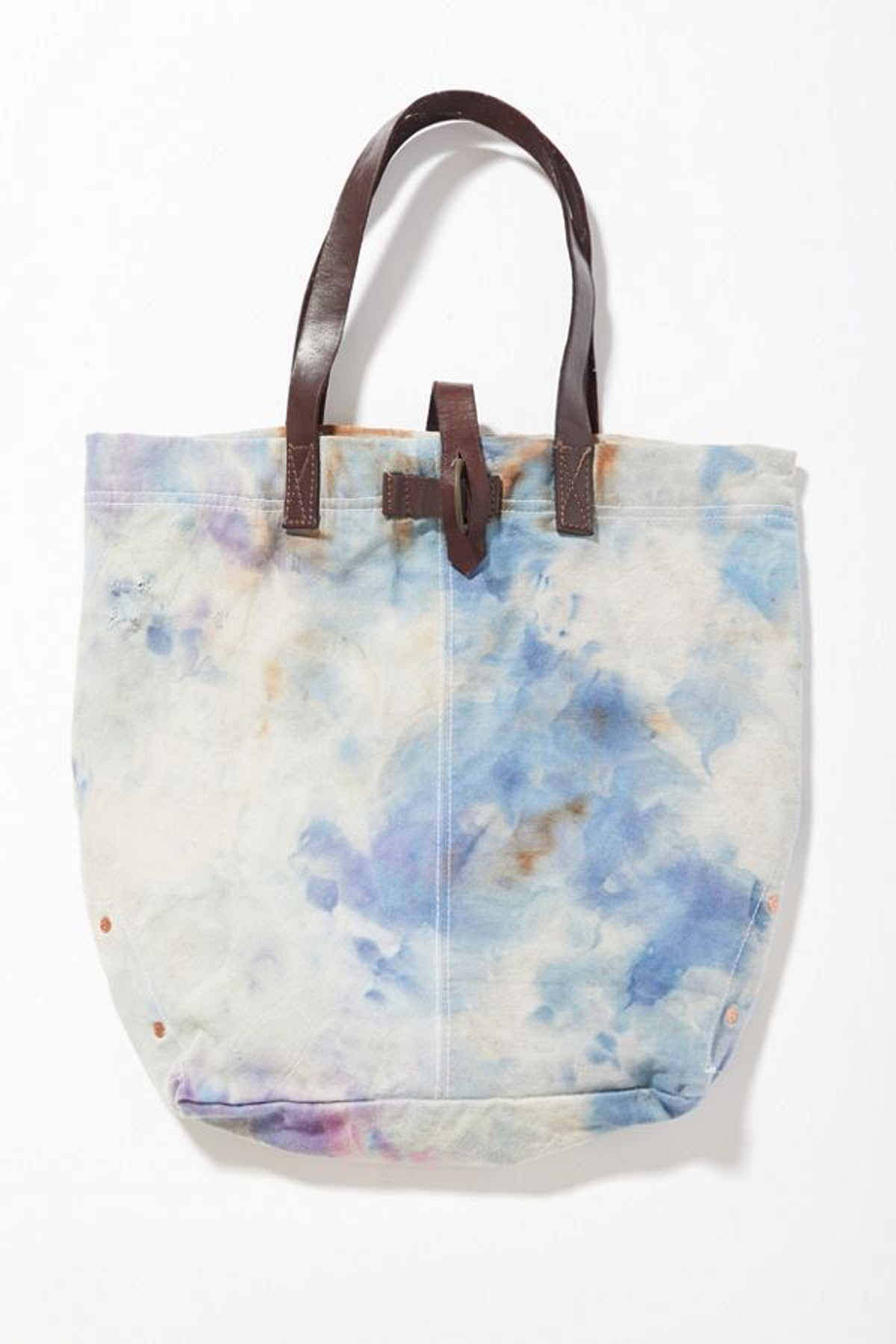 Vintage Riverside Tool & Dye Hand-Dyed Tote Bag