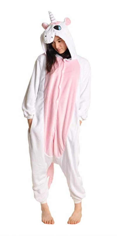 Angelina Unisex Plush Unicorn and Animal One-Piece