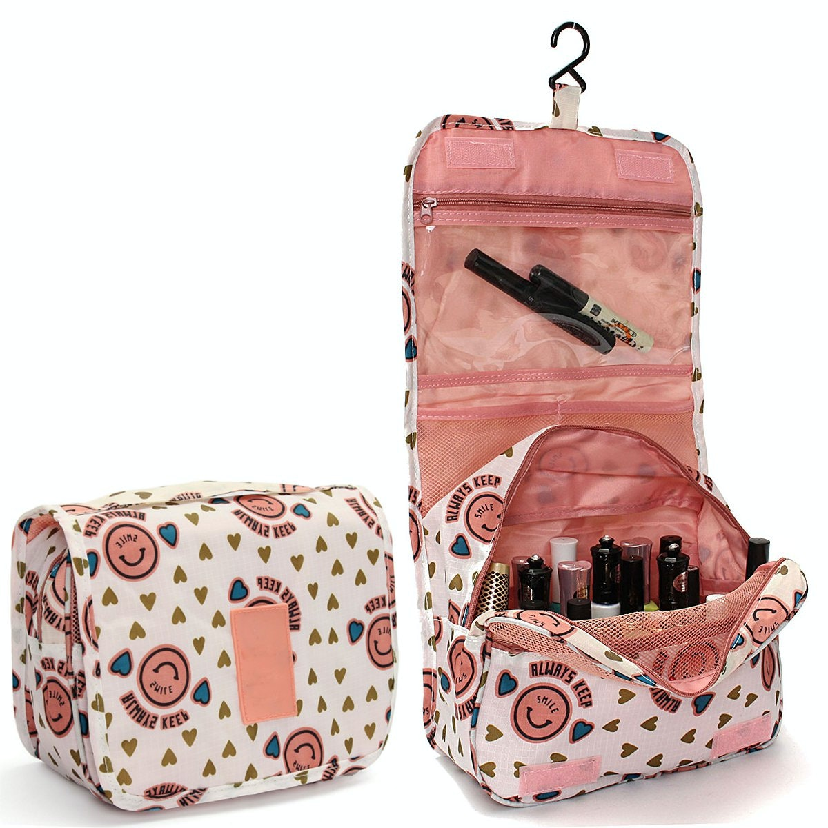 Hanging Toiletry Bag With Hanging Hook