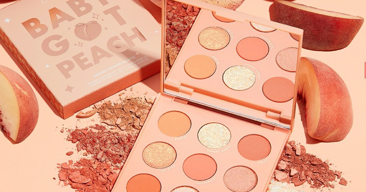 Where To Get ColourPop's Peach Collection To Make The Most Of Summer Glam While You Can