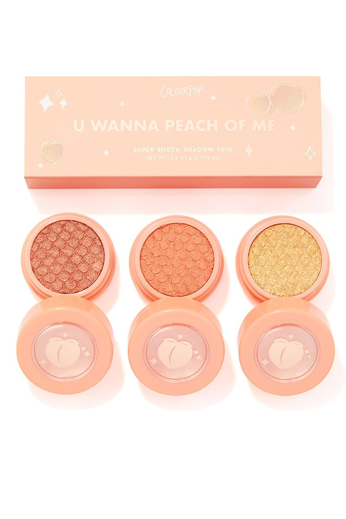 U Wanna Peach Of Me Super Shock Eyeshadow Kit
