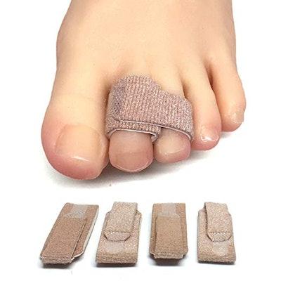ZenToes Broken Toe Wraps (4 Pack)