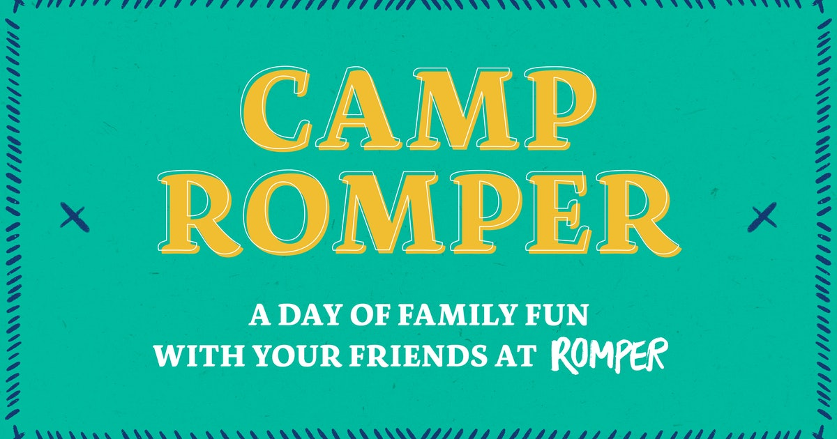 Camp Romper Is Our First Family Fun Day & You're Invited