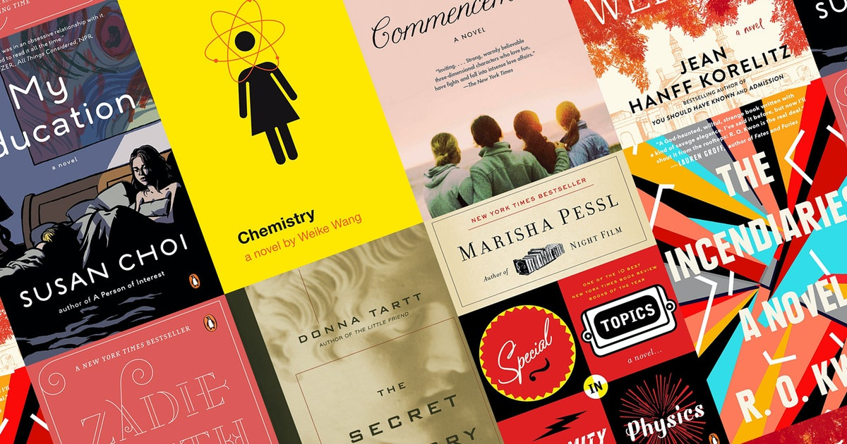 15 Campus Set Novels For Readers Who Miss Back-To-School Season
