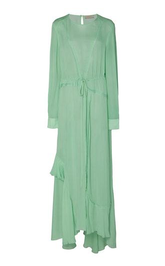 Brea Georgette Tie-Detail Dress