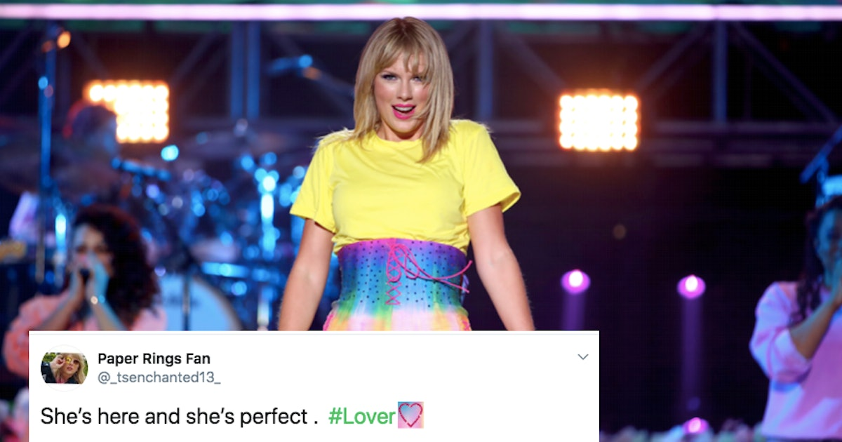 These Tweets About Taylor Swift's 'Lover' Album Will Give You Life