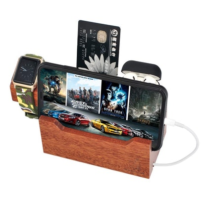 BOXTHINK Wood Charging Dock Station