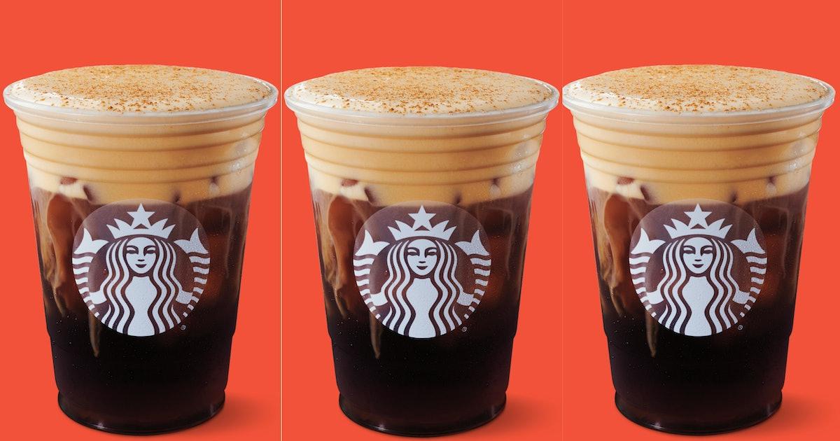 Starbucks' Pumpkin Cream Cold Brew Is The First New Pumpkin Drink In 16 Years