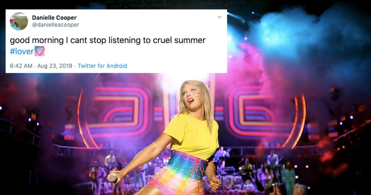 """These Tweets About Taylor Swift's """"Cruel Summer"""" Prove It's A Jam"""