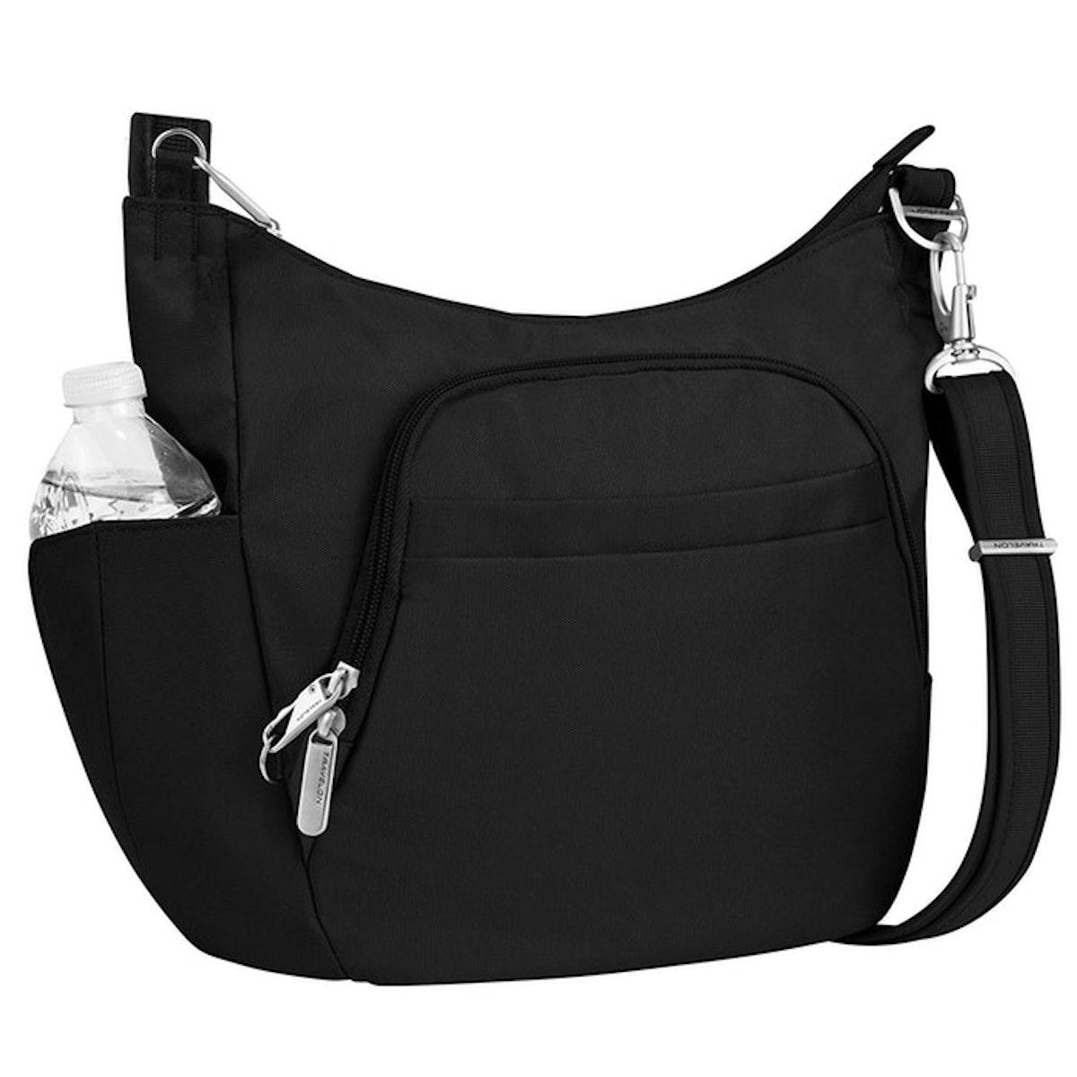 Travelon Anti-Theft Cross-Body Bucket Bag