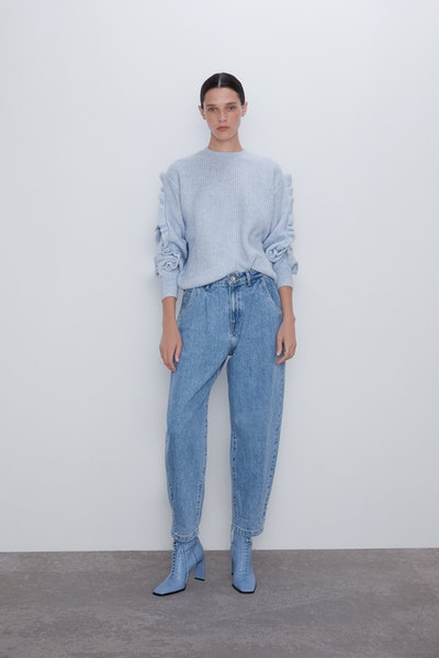 Slouchy Jeans With Darts