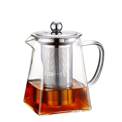 Toyo Hofu Glass Teapot with Infuser