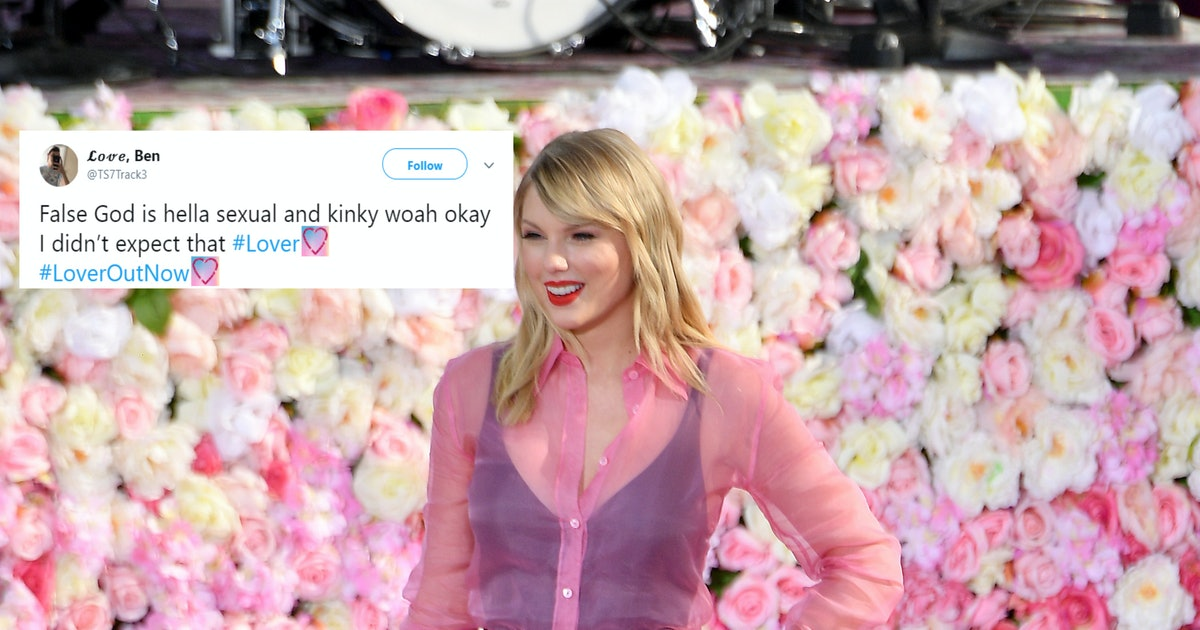 "These Tweets About Taylor Swift's ""False God"" Will Have You Hot & Bothered"