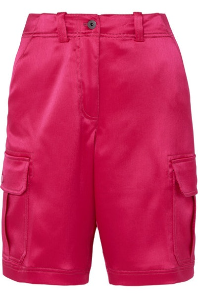 Elias Crinkled Satin Shorts