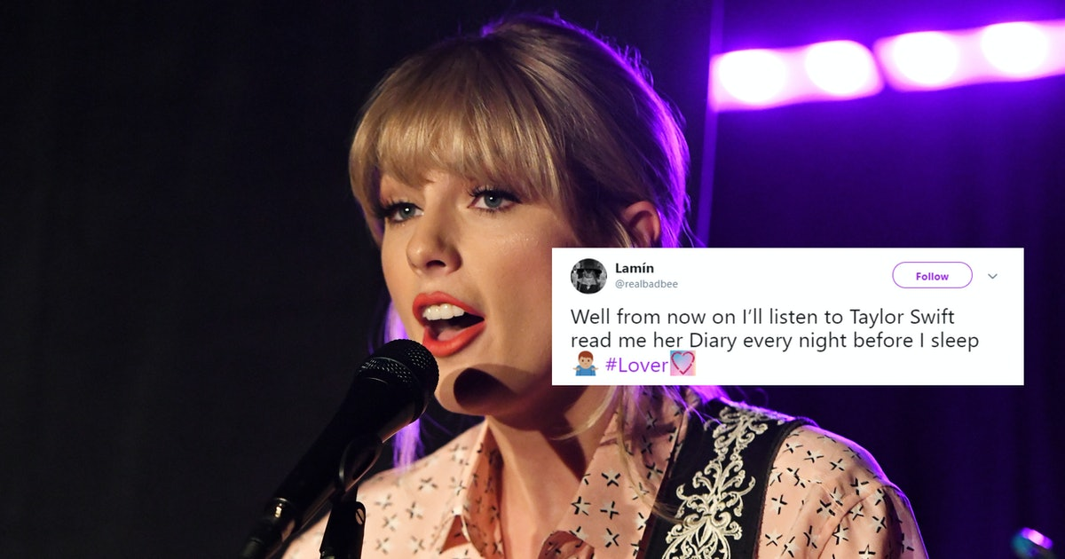 The Tweets About Taylor Swift's 'Lover' Diary Entries Show Fans Are Losing It