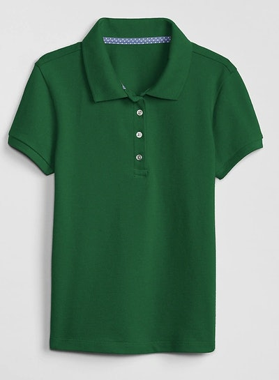 Kids Uniform Stretch Short Sleeve Polo Shirt