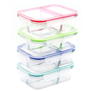 RENPHO Glass Meal-Prep Containers (4-Pack)