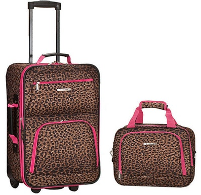 Rockland Luggage Rio Two-Piece Carry-On Set