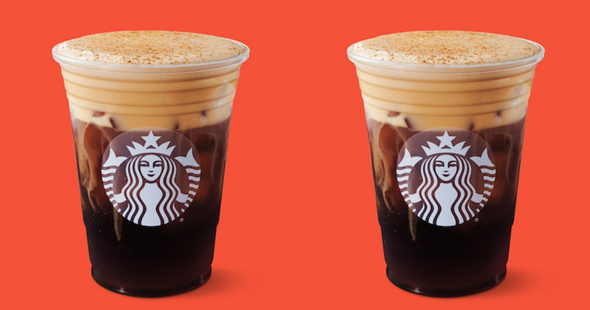 Starbucks' Pumpkin Cream Cold Brew Is The Chain's First New Pumpkin Sip In 16 Years