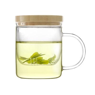Emoi Glass Brewing Tea Mug 12oz