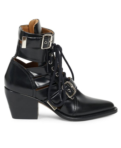 Rylee Lace-Up Leather Boots