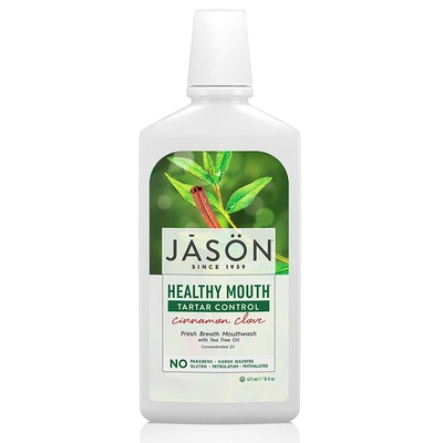 JASON Healthy Mouth Cinnamon Clove Tartar Control Mouthwash (16 Oz.)