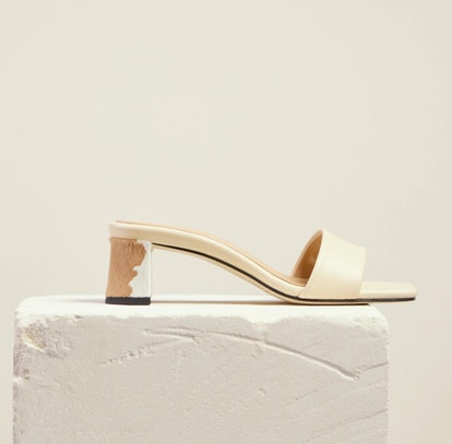 Chaise Mule in Creme