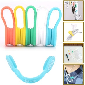 Sunficon Earbuds Cord Organizers (5 Pack)