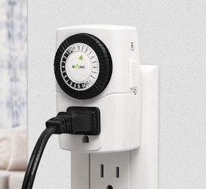 BN-LINK Mechanical Outlet Timer (2-Pack)