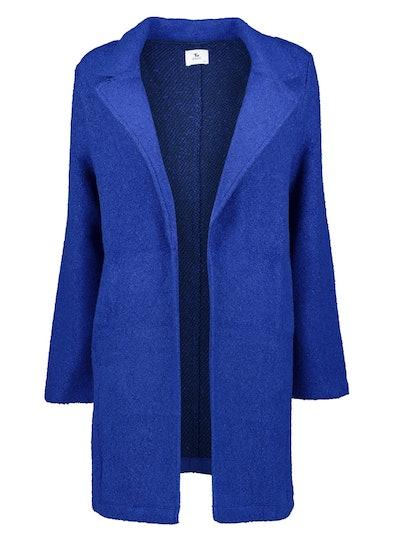 Cobalt Blue Bouclé Coat