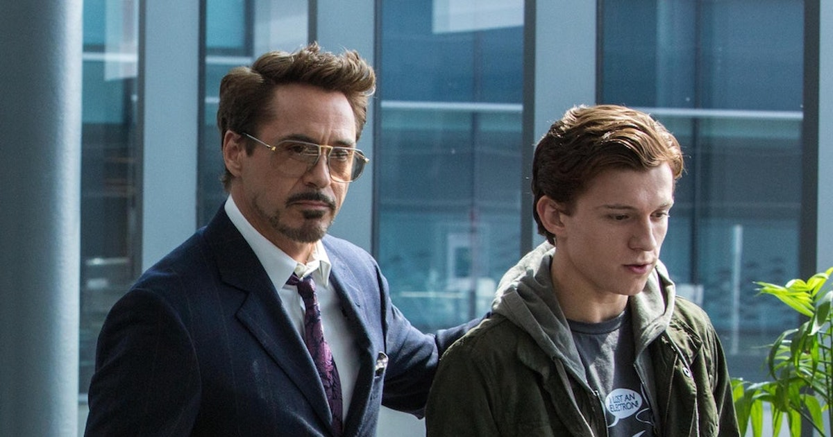 Tom Holland & Robert Downey Jr. Hung Out, Proving Spider-Man Will Always Be Part Of The MCU Family — PHOTOS