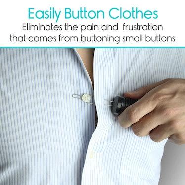 Vive Button Hook and Zipper Puller