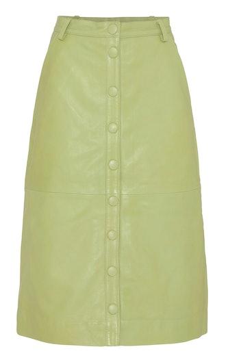 Bellis Leather Skirt