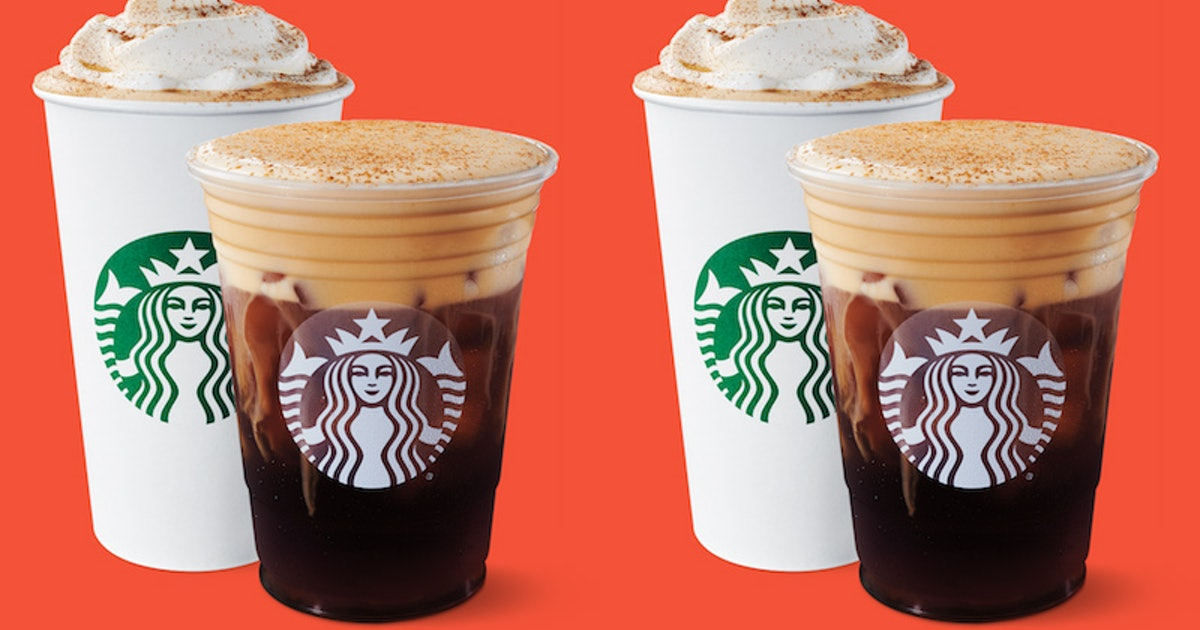 What Does Starbucks' Pumpkin Cream Cold Brew Taste Like? It's A Lighter Take On A PSL