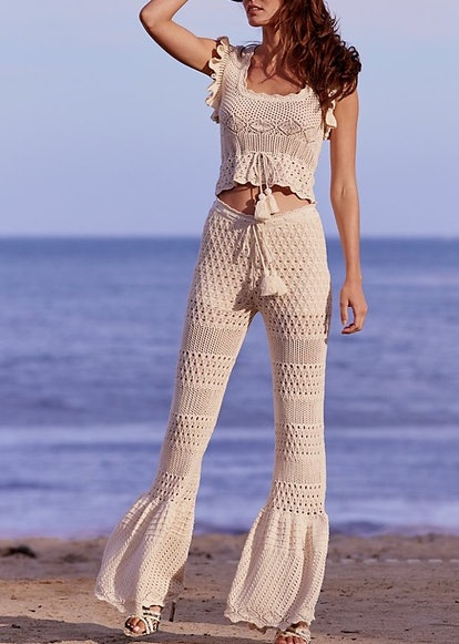 Link Crocheted Pant