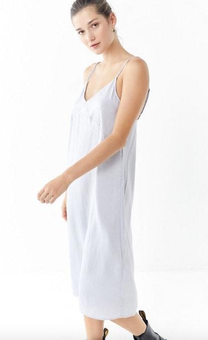 Urban Renewal Remnants Silky Midi Slip Dress
