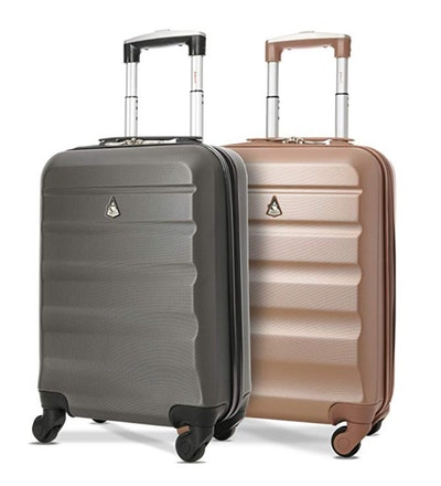 Aetolite Maximum Allowance Airline Approved Delta United Southwest Carry-On Suitcase