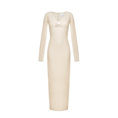 Wool Long Dress