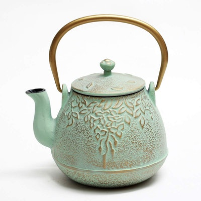 Toptier Cast Iron Teapot with Infuser