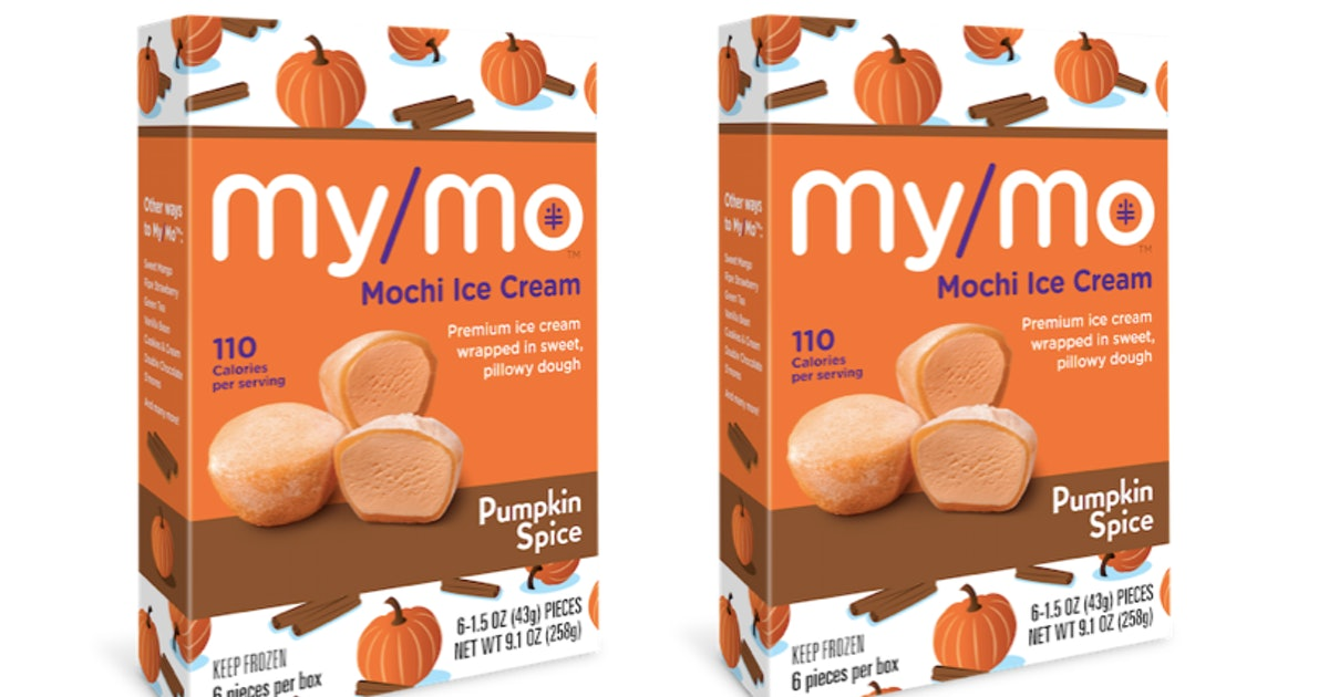 My/Mo Mochi Ice Cream's Pumpkin Spice Flavor Is A Chilly Take On Your Fave Fall Flavor