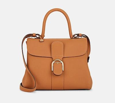 Brillant MM Leather Satchel